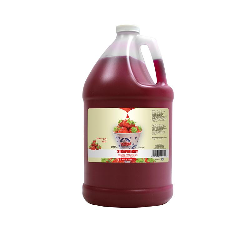 Strawberry Sno Kone Syrup