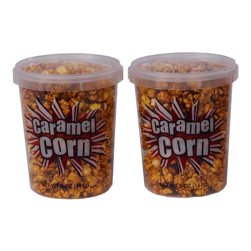 Stay Fresh Caramel Corn Containers