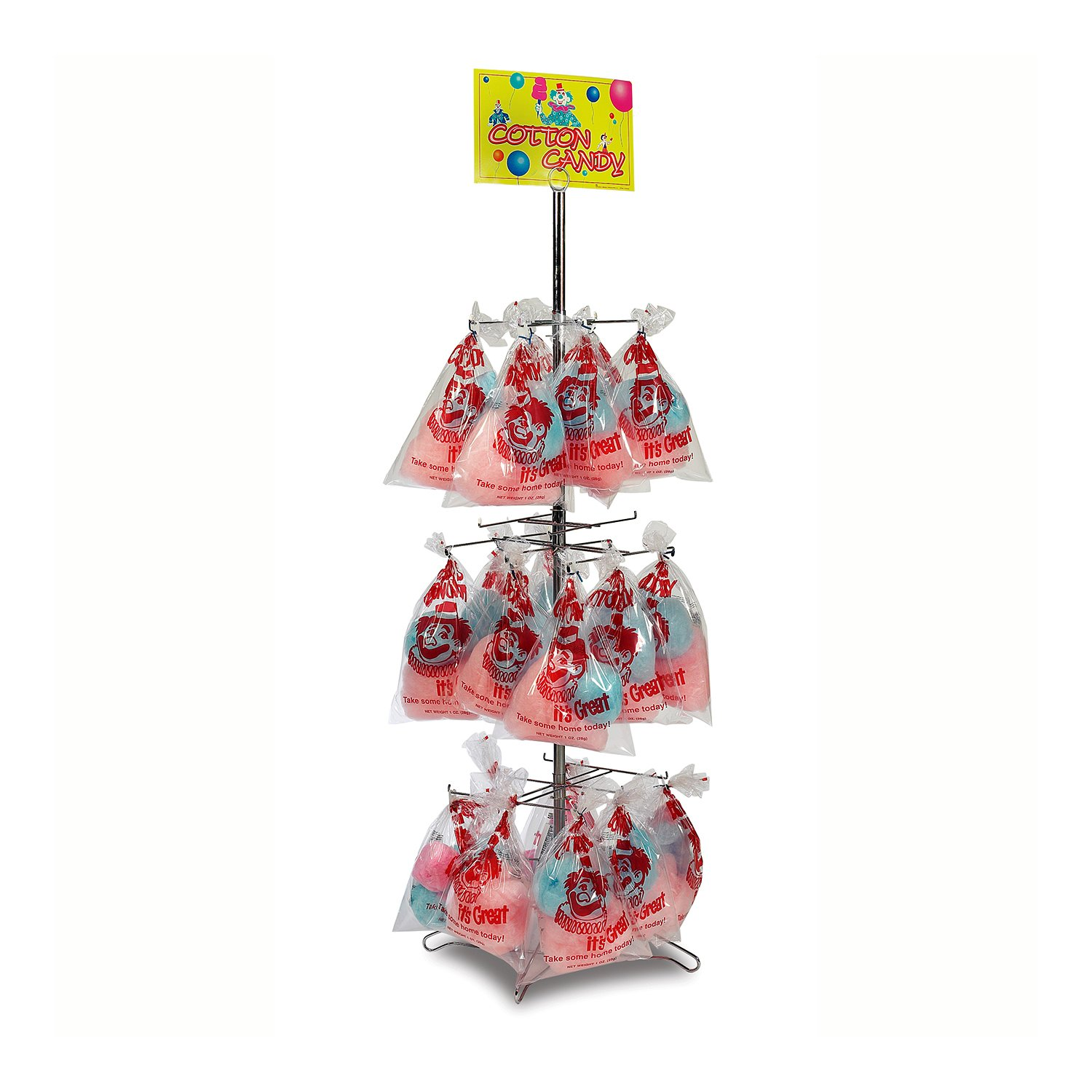 cotton candy display stand