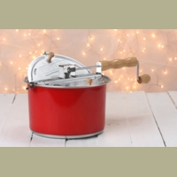 whirley pop stovetop popcorn popper color changing